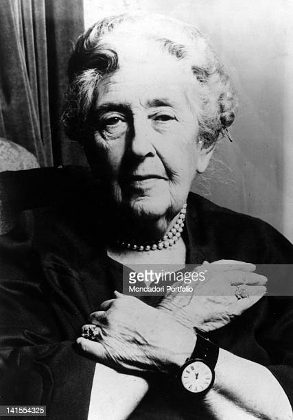 The British writer Agatha Christie