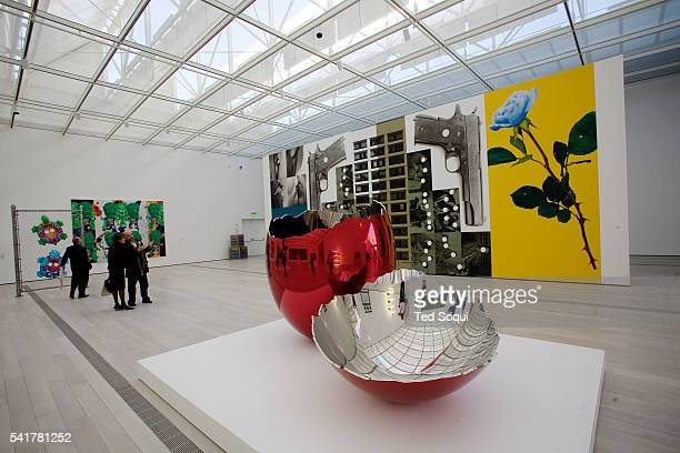 The Broad Contemporary Art Museum has more than 200 contemporary artworks on view including Jeff Koons' sculpture Cracked Egg Red 19942006 and John...