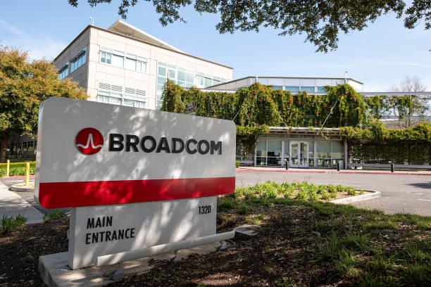CA: Broadcom Headquarters Ahead Of Earnings Figures
