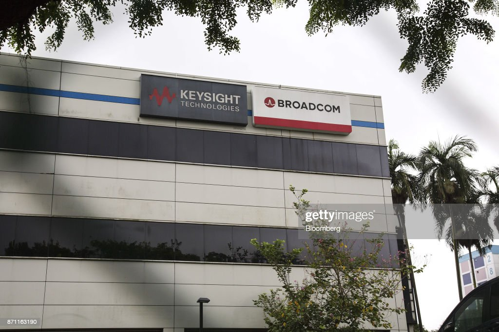 The Broadcom Ltd Headquarters Stands In Singapore On Tuesday Nov