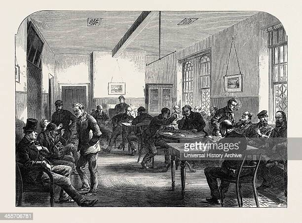 DayRoom For Male Patients Uk 1867