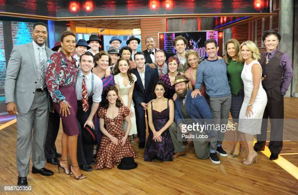 AMERICA The Broadway cast of 'Bandstand' performs live on 'Good Morning America' Tuesday June 20 airing on the ABC Television Network CAST