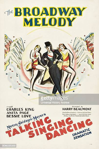 The Broadway Melody of 1929 with Charles King Anita Page and Bessie Love
