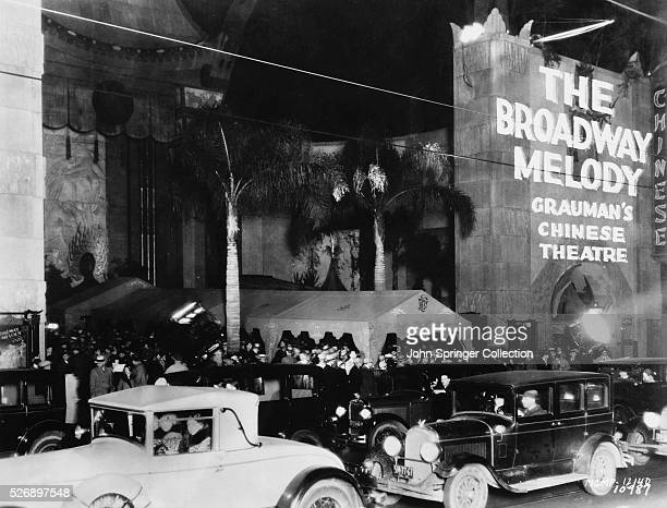 The Broadway Melody Premiere at Grauman's Chinese Theatre