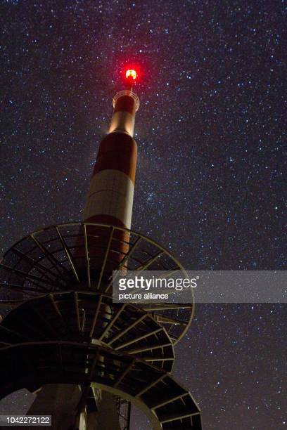 The Brocken mountain is pictured during a starlit night near Schierke Germany 07 September 2013 The Harz summit attracts over 15 million visitors...