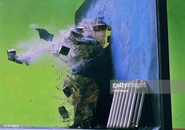 The broken wall