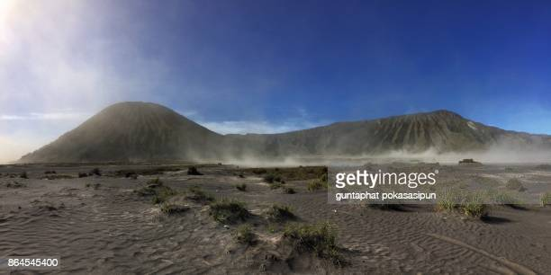the bromo desert - mt bromo stock photos and pictures