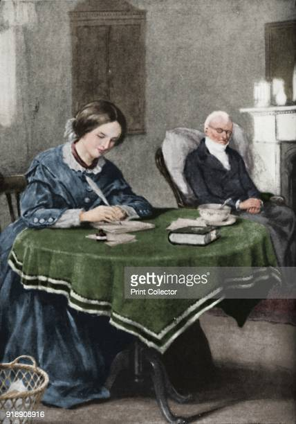 The Brontes Words Inspired By Hope That Won Renown' c1925 The Bronte sisters Charlotte Emily and Anne poets and novelists From Cassell's Romance of...