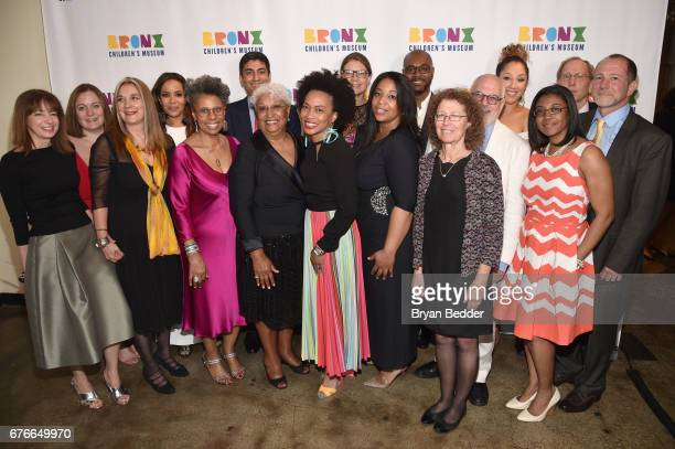 The Bronx Children's Museum Board Members attend the Bronx Children's Museum Gala at Tribeca Rooftop on May 2 2017 in New York City