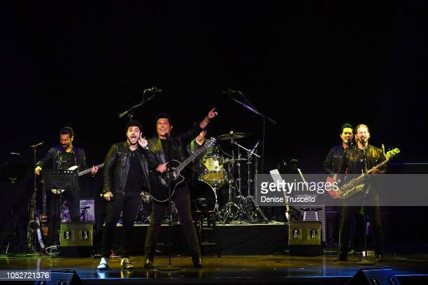 The Bronx Wanderers at Las Vegas's 8th annual NF Hope Concert A Benefit for Neurofibromatosis at the Palazzo Theatre at The Palazzo Las Vegas on...