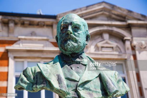 The bronze bust to Sir Henry Tate in Windrush Square There is a campaign to recover the anchors from the Empire Windrush ship and erect them as an...