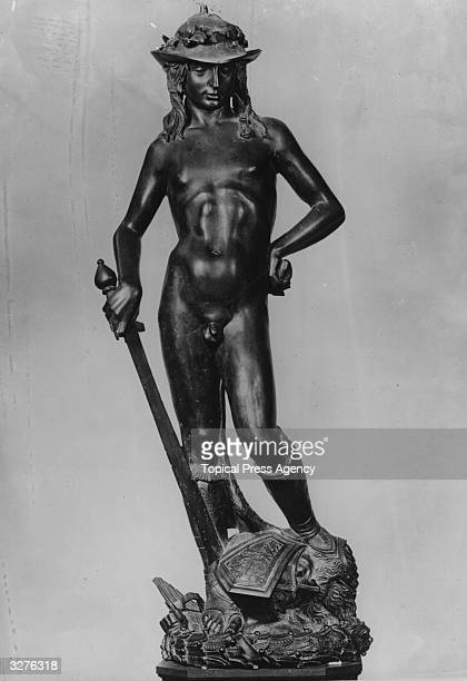 The bronze sculpture of David by the Florentine artist Donatello which is considered a key work of the Renaissance period