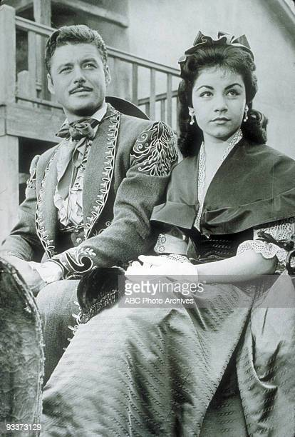 ZORRO The Brooch 1959 Guy Williams with Annette Funicello