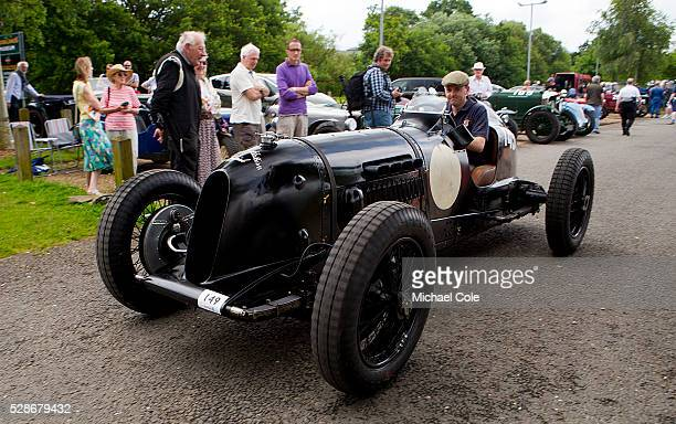 The Brooklands Double Twelve Motoring Festival at the Brooklands Museum 14th 15th June 2014 1935 Bentley 45 litre Pacey Hassan Special at The...