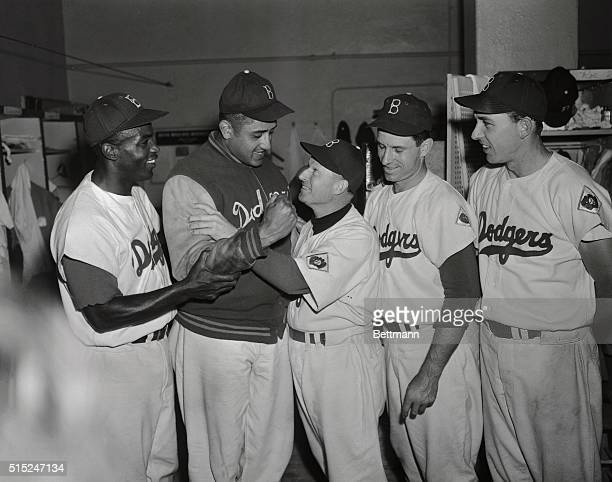 The Brooklyn Dodgers wielded the sledgehammer September 8th and knocked the stunned Giants deeper into second place pounding out a 9 to 0 victory in...