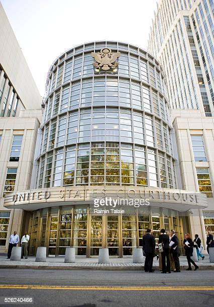 The Brooklyn Federal Court where terror suspect Najibullah Zazi is scheduled to be arraigned in Brooklyn on Tuesday September 29 2009
