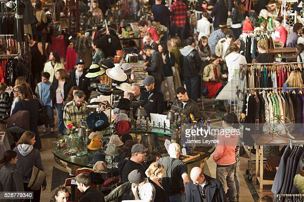 The Brooklyn Flea at One Hanson Place in downtown Brooklyn The Brooklyn Flea is a high end flea market that takes place in the the former...