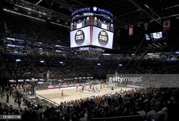 The Brooklyn Nets and the Boston Celtics tip off to open Game One of their Eastern Conference first-round playoff series on May 22, 2021 at Barclays...