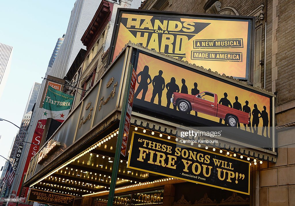 Broadway Theater Exteriors And Landmarks