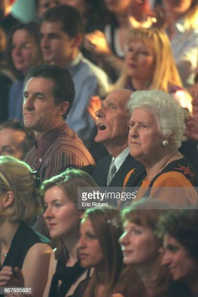 The brother and parents of Céline Dion in the public