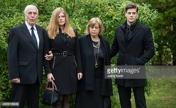 The brother of decedent Joachim Fuchsberger Ottmar Fuchsberger Joachim's grandchildren Jennifer and JulienChristopher and widow Gundula 'Gundel'...