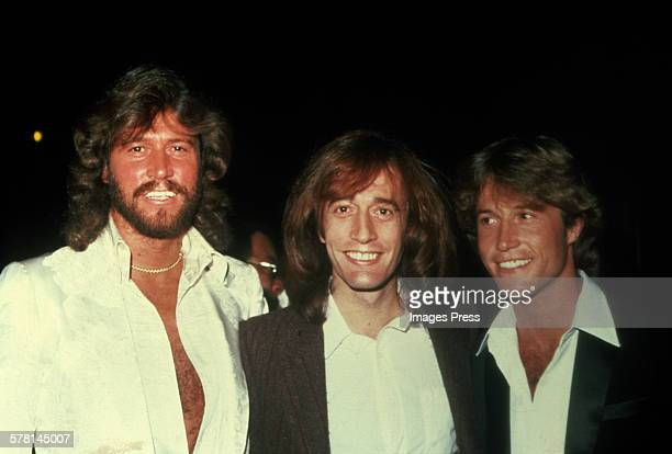 The Brothers Gibb of the Bee Gees circa 1983 in New York City