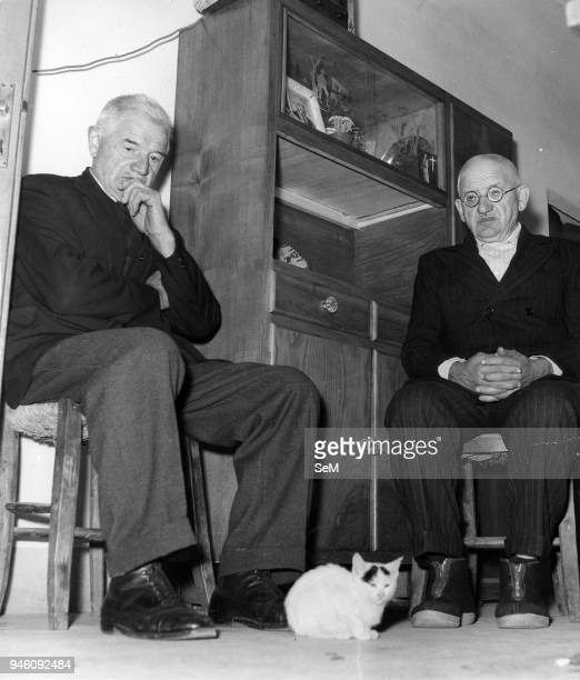 The brothers of Pope John XXIII, Angelo and Saverio. Pope John XXIII, Ioannes XXIII), born Angelo Giuseppe Roncalli 25 November 1881 _ 3 June 1963,...