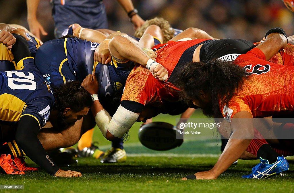 Super Rugby Rd 14 - Brumbies v Sunwolves : ニュース写真