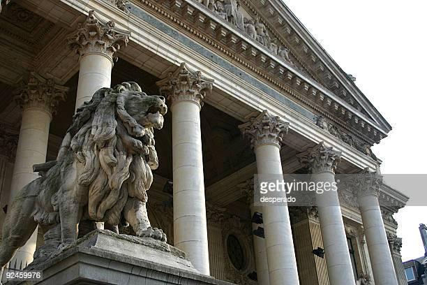 the brussels stock exchange in new york - belgische cultuur stockfoto's en -beelden