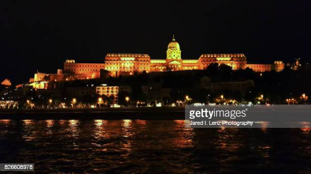 The Buda Castle at Night (view from the Danube River)