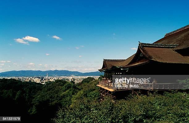 The Buddhist Otowasan Kiyomizudera temple Kyoto Kansai Japan