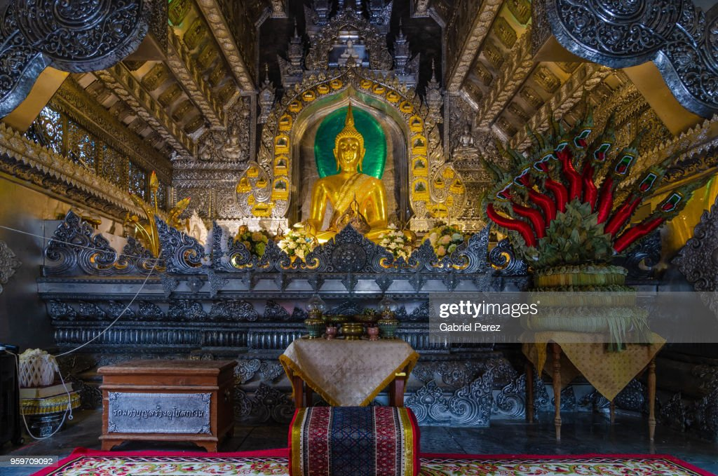 The Buddhist Temple of Wat Sri Suphan : Stock-Foto