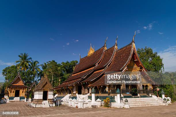 The Buddhist WAT XIENG THONG (Temple of the Golden City) , built in 1560