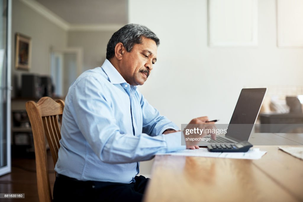 The budget is in good hands : Stock Photo