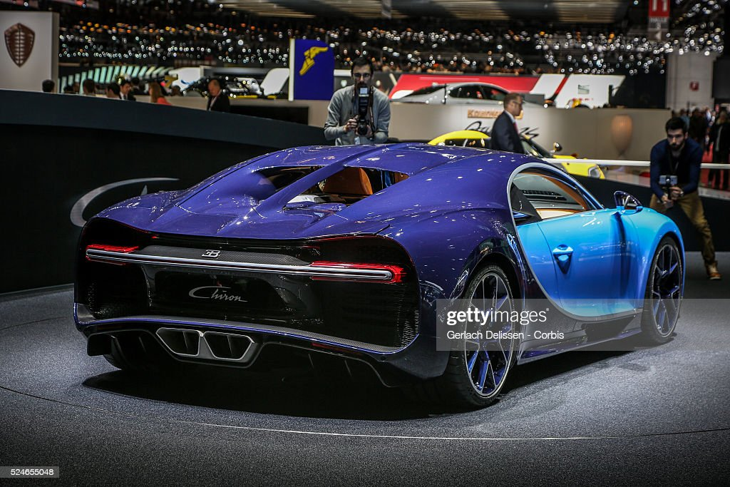 86th Geneva International Motorshow at Palexpo in Switzerland, March 2, 2016 : News Photo