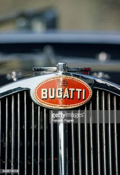 The Bugatti emblem