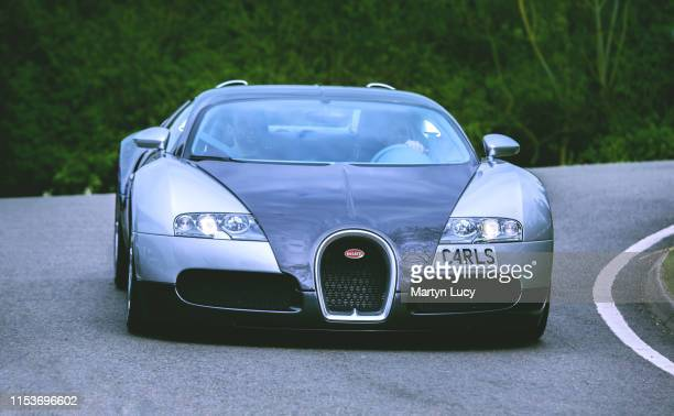 The Bugatti Veyron attending the Sharnbrook Hotels Charity event '30k in a day' in Bedfordshire The Veyron is named after the racing driver Pierre...