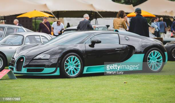 The Bugatti Veyron Supersport on display at The London Concours event. The Honourable Artillery Company host the two day luxurious automotive garden...
