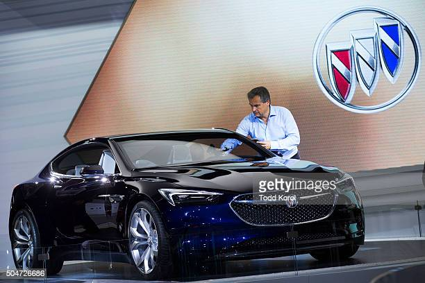 The Buick Avista concept car at the North American International Auto Show in Detroit Michigan Toronto Star/Todd Korol