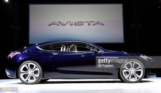 The Buick Avista Concept is revealed to the news media on the eve of the 2016 North American International Auto Show January 10th 2016 in Detroit...