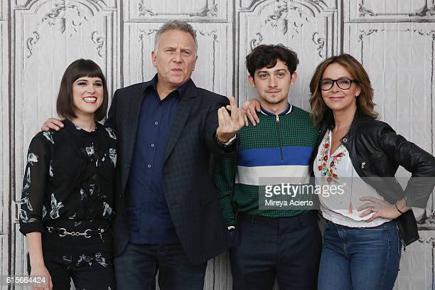The Build Series presents actors Alexandra Socha Paul Reiser Craig Roberts and Jennifer Grey to discuss their Amazon comedy 'Red Oaks' at AOL HQ on...