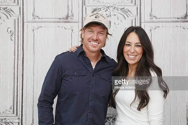 """The Build Series presents Chip Gaines and Joanna Gaines to discuss their new book """"The Magnolia Story"""" at AOL HQ on October 19, 2016 in New York City."""