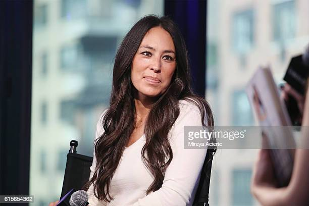 """The Build Series presents Joanna Gaines to discuss the new book """"The Magnolia Story"""" at AOL HQ on October 19, 2016 in New York City."""