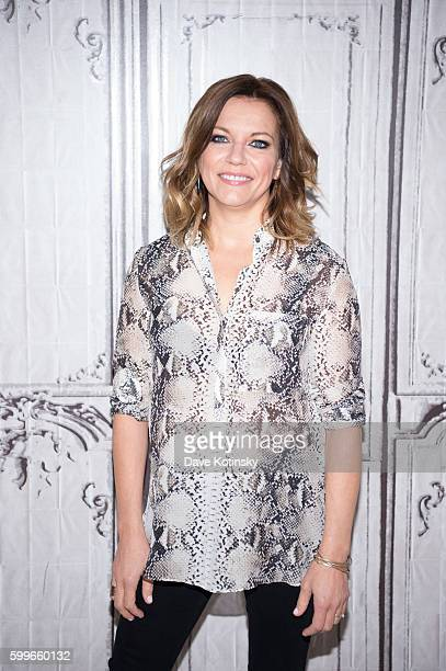The BUILD Series Presents Martina McBride Discussing Her New Album 'Reckless' at AOL HQ on September 6 2016 in New York City