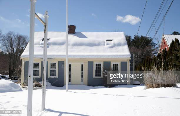The building at 144 Washington St in Norwell MA which was raided by police for alleged sex trafficking activities is pictured on March 6 2019 The...