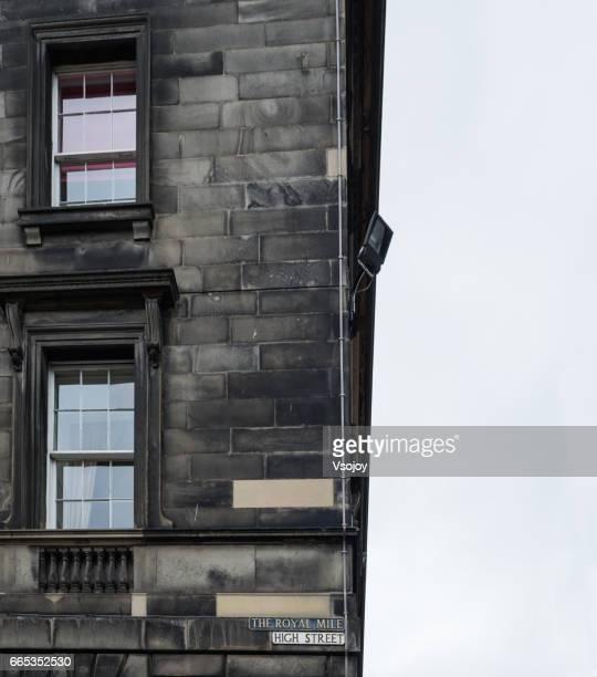 The building, High Street, Royal Mill, Edinburgh