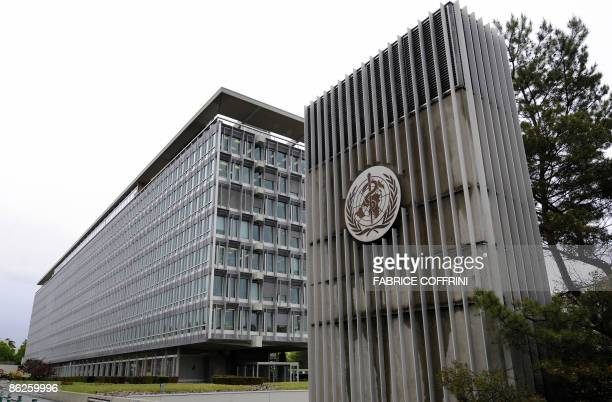The building hosting the World Health Organisation headquarters is pictured on April 28 2009 in Geneva The World Health Organisation earlier raised...