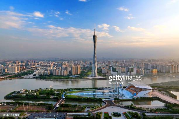 The building of Guangzhou city in Guangdong province,China