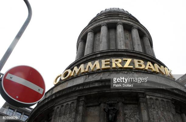 The building of the German Commerzbank is seen on August 29 2008 in Duesseldorf GermanyThe board of German insurer Allianz will probably recommend...
