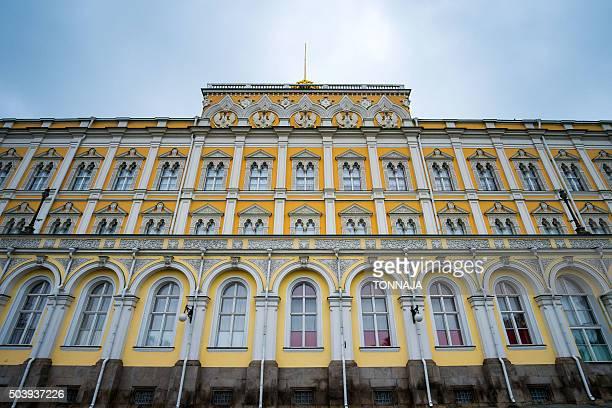 the building of the grand kremlin palace, moscow - state kremlin palace bildbanksfoton och bilder